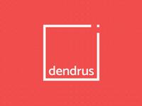 Dendrus rebranding dot dots rectangle logo stationery branding identity high quality custom furniture furniture logo furniture