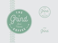 The Grind coffee logo