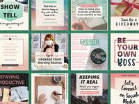"""Entrepreneur """"Entrepest"""" social media banner templates"""