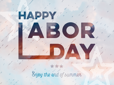 Labor day usa united states typography patriotic lettering celebrate america labor day