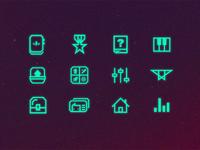 Diggonaut - Icons