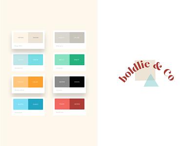 Boldlie Branding brand style guide branding ecommence shopping marketplace handmade community illustration ui design typography logo colours colors colorscheme teal design art direction pallete