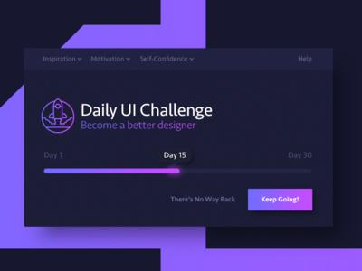 Daily UI 015