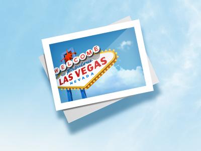 Welcome to Las Vegas illustration ipad las vegas nevada