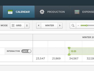 Marketing Calendar (WIP) ui user interface marketing calendar icons