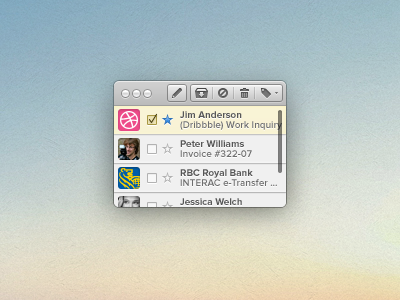 Micro Email Client ios mail simple osx application client email nano