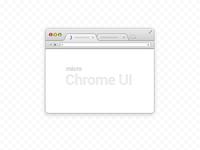 Micro Chrome UI (psd)