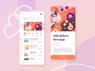 Bakery and Beverages Mobile App Exploration