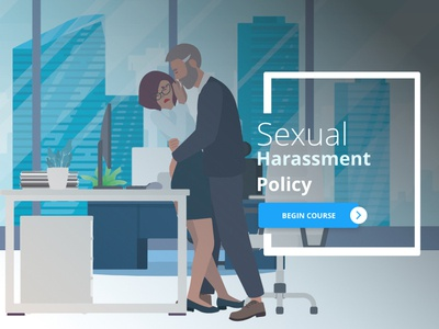 Sexual Harassment Course Title Page