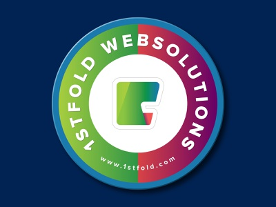 Coaster Design for 1stFold adobe xd colorful design smooth web desgin illustration vibrant simple design uidesign