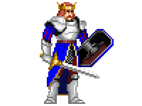The King of Pixels