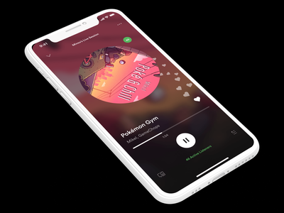 Spotify Live Sessions | UI and Chill spotify mobile app ux user interface ui design user experience mobileui