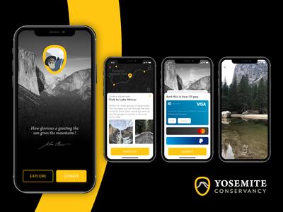Yosemite Conservancy Mobile App nature yosemite yosemitechallenge