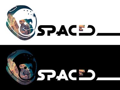 #SpacedChallenge Logo nebula monkey logo spacedchallenge