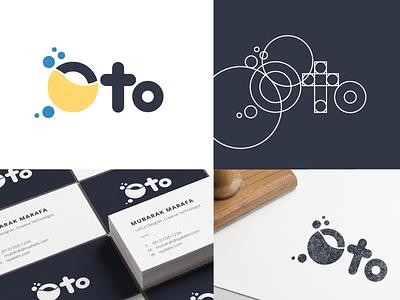 Oto Lettermark Logo lettermark proportion divine ratio golden branding logo technology baby