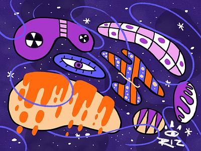 Space Joy illustration