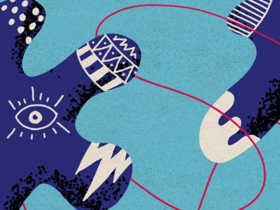 IPhone Background digital art illustration