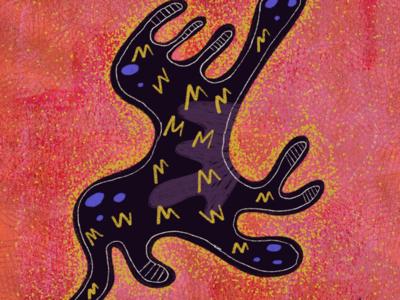 Tribe art design illustration