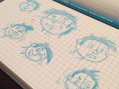 Eek! Sketching Faces