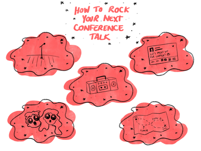 How To Rock Your Next Conference Talk Illustrations