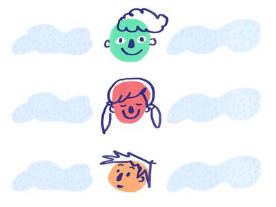 Sketching With Kindergartners - Illustrations 2