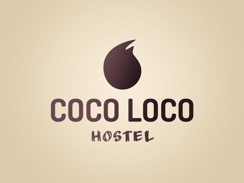 Coco loco logo dribbble light