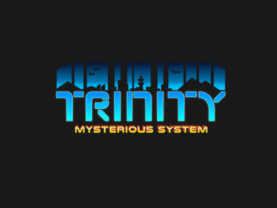 Logotype and Font for MMO Game