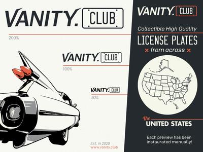 License Plates Website Logotype &Presentation V2