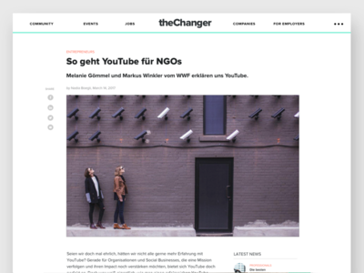 Thechanger Article Page