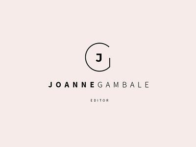 [ Branding ] Joanne Gambale illustrator branding design logo