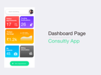 Dashboard page