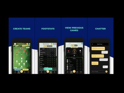 Footsapp Launching Soon! sports ui flutter app