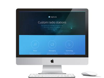 Neptune - Responsive Website Design responsive website design open sans