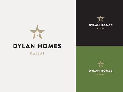Logo for a Dallas homebuilder logo branding identity design home homebuilder dallas