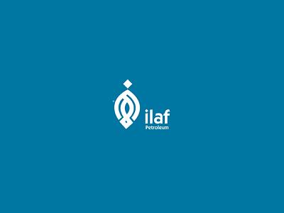 ilaf Petroleum logodr لوقو عربي تصميم براندينج لوجو logodesign design brandind logo