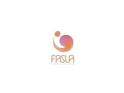 fasla logo logodr لوقو عربي تصميم براندينج لوجو logodesign design brandind logo