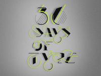 36 Days of Type Alphabet Experiment
