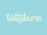 bettabums Custom Logotype