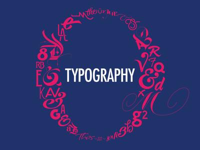 Typography Matters   Slide Opener for Dribbble Meetup logo logotype typography branding font design custom type type design