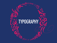 Typography Matters | Slide Opener for Dribbble Meetup