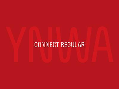 You'll Never Walk Alone | CONNECT Regular typeface font typography branding font design custom type type design