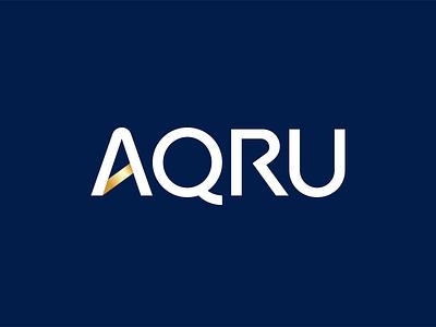 AQRU Brand Positioning & Logo Design typeface font typography branding font design custom type type design