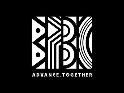 BPBC Logo Design for Mandela Day 2018: geometric logo logotype typography branding font design custom type type design logo design