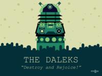 Dalek Vector Illustration