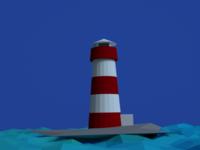 Blender Lighthouse