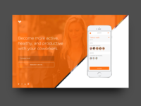 Active Co. Landing Page
