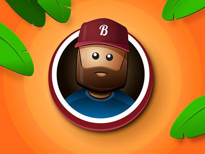 Hi! vector sketchapp sketch selfie profile illustration avatar