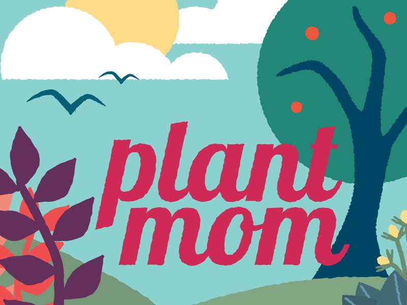 Plant Mom illustration
