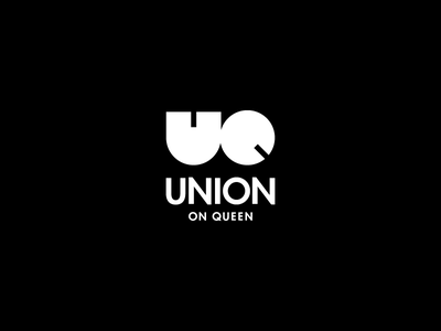 Union on Queen (Concept) apartment real estate logotype logo