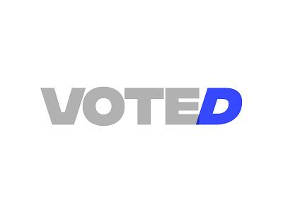 😉 blue d logo voted